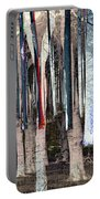 Landscape Forest Trees Portable Battery Charger