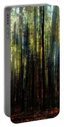 Landscape Forest Trees Tall Pine Portable Battery Charger