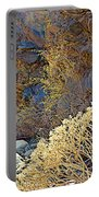 Landscape Of Big Painted Canyon Trail In Mecca Hills-ca Portable Battery Charger