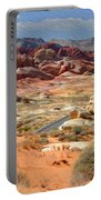 Landscape Of Valley Of Fire State Park Portable Battery Charger