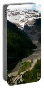 Landslides At Mount Rainier Portable Battery Charger