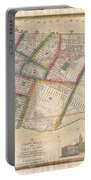 Langdon Pocket Map Of New York City Portable Battery Charger
