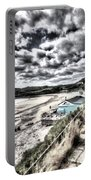 Langland Bay Painterly Portable Battery Charger