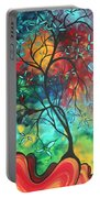 Languishing In The Breeze Original Art Madart Portable Battery Charger