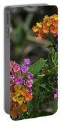 Lantana Blooms Portable Battery Charger