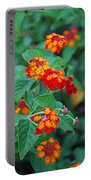 Lantana Delight Portable Battery Charger