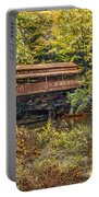 Lanterman Falls Covered Bridge Portable Battery Charger