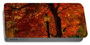 Lantern In Autumn Portable Battery Charger