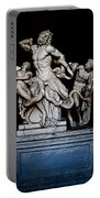 Laocoon And The Snake Portable Battery Charger