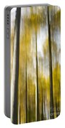 Larch In Abstract Portable Battery Charger