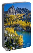 Larches At Perfection Lake Portable Battery Charger