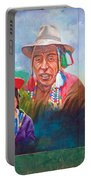 Large Mural In Cusco Peru Part 6 Portable Battery Charger