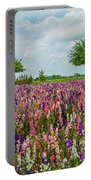 Larkspur Fields Forever Portable Battery Charger