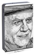 Larry Hagman In 2011 Portable Battery Charger