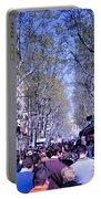 Las Ramblas - Barcelona Spain Portable Battery Charger