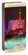 Las Vegas Bellagio Painting Portable Battery Charger