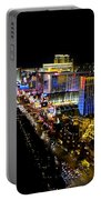 City - Las Vegas Nightlife Portable Battery Charger