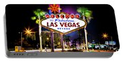 Las Vegas Sign Portable Battery Charger