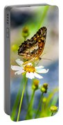 Last Bloomin Flower  Portable Battery Charger