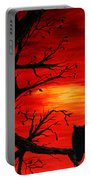 Last Leaves Of Autumn Portable Battery Charger