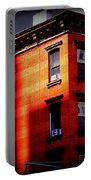 Last Rays Of The Sun - Old Buildings Of New York Portable Battery Charger