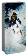 Last Run Portable Battery Charger by Hanne Lore Koehler