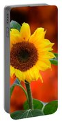 Last Sunflower Horizontal Portable Battery Charger