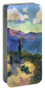 Late Afternoon Tucson Portable Battery Charger