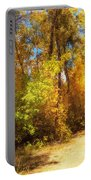 Late Autumn Colours Portable Battery Charger