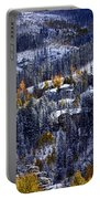 Late Fall In Vail Portable Battery Charger