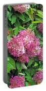 Late Hydrangea Flower Portable Battery Charger