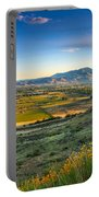 Late Spring Time View Portable Battery Charger by Robert Bales