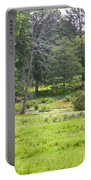 Late Summer By The Pond Portable Battery Charger