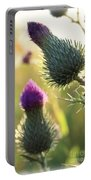 Late Summer Thistle - 2 Portable Battery Charger