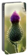 Late Summer Thistle Portable Battery Charger