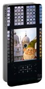 Laughing Gnome In Venice Portable Battery Charger