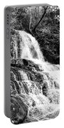 Laurel Falls Smoky Mountains 2 Bw Portable Battery Charger