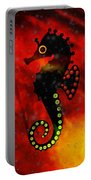 Lava Loving Seahorse Portable Battery Charger