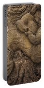 Lava Mother With Child On Galapagos Islands Portable Battery Charger