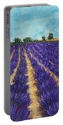 Lavender Afternoon Portable Battery Charger