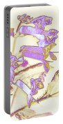 Lavender And Gold Portable Battery Charger