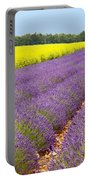 Lavender And Mustard Portable Battery Charger