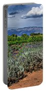 Lavender And Sunflowers Portable Battery Charger