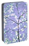 Lavender Blues Leaves Melody Portable Battery Charger
