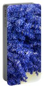 Lavender Bunch Flowers Portable Battery Charger