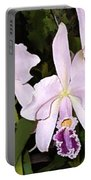 Lavender Cattleya Orchids Portable Battery Charger