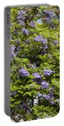 Lavender-colored Blooming Tree Portable Battery Charger
