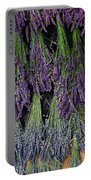 Lavender Drying Rack Portable Battery Charger