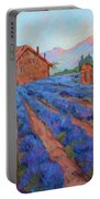 Lavender Field Provence Portable Battery Charger