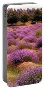 Lavender Fields 2 Portable Battery Charger